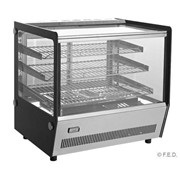 F.E.D Bonvue Bellevista 120L Heated Display With 3 Shelf | STR120