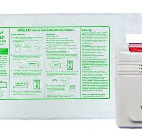 Cordless Bed Exit Alarm Kit for The Elderly