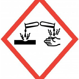 GHS - Global Harmonized System Labels Corrosive Labels
