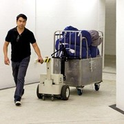 Tug Compact Linen Mover for Linen Trolleys | Electrodrive