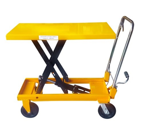 Manual Scissor Lift Table | 200kg Capacity - 1m Lift