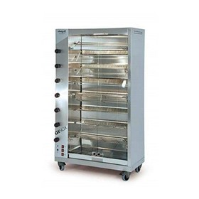 Spit Roast Rotisserie Oven | GINOX 8 Gas
