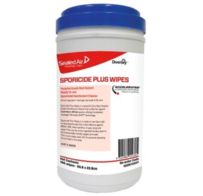 Disinfectant Cleaner | Sporicide Plus Wipes