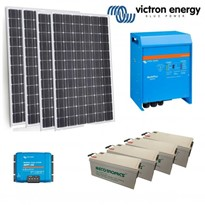 Victron | Off  Grid Solar  Kit - 3KVA Inverter Charger | 1500W Solar