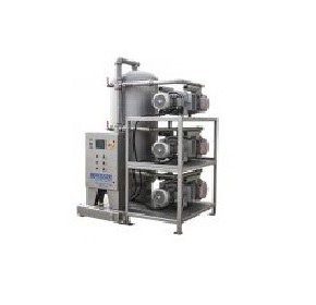 Space Saving Rack Mounted Centralised Vacuum Pump System