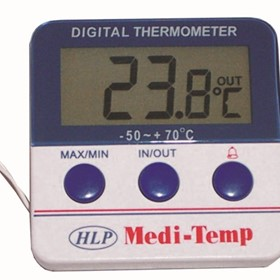 Medi-Temp Electronic Min-max Thermometer