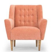Kubrick Arm Chair Dusty Rose