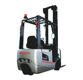 Nissan Forklifts - 3 & 4 Wheel Counterbalanced Battery Electric