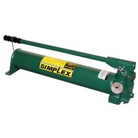 Simplex P Series Heavy Duty Steel Hydraulic Hand Pump