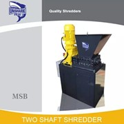 High Efficiency Double Shaft Shredder Machine for Hard Drive | MSB-11