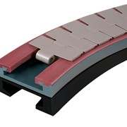 Rexnord Magnetflex Combi X Corner Track for Conveyor Systems