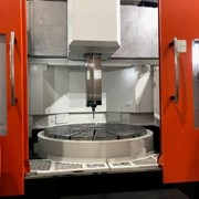 Stock Special 1600mm Chuck CNC Vertical Borer with Live Tooling