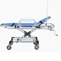Hospital Emergency Bed - Height Adjustable
