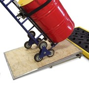 Easy Load Ramp for Spill Decks