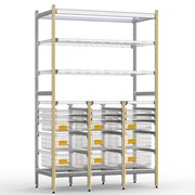 STERIRACK™ System 400D 3-Bay Storage Module