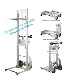 Winch Lifter- 1.5m Lift / 90kg Capacity