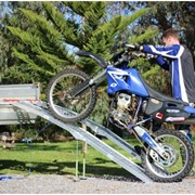 Aluminium Curved Folding Motorcycle Loading Ramp | Heeve 2.3m x 450kg