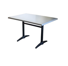 Rectangle Twin Dining Table | Astoria Black- Indoor/Outdoor