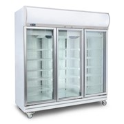 Bromic Flat Glass Door  LED Upright Display Chiller |1507L- GD1500LF