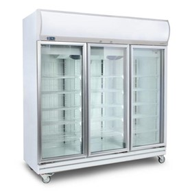 Flat Glass Door LED Upright Display Chiller |1507L- GD1500LF