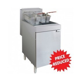 Deep Fryer | Natural Gas 3-Tube