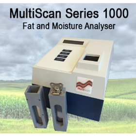 NIR Spectrometer Fat and Moisture Analyser | MultiScan Series 1000