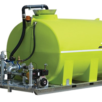 "Slip On Water Cart, Petrol 3"" -TTi- FloodRite10000L-  ST10000FR1"