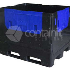 Plastic and Poly Pallet Boxes | Containit Solutions