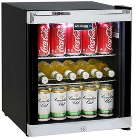 Schmick Tropical Mini Bar Fridge HUS-SC50B
