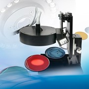 Innovative contact-less measurement system of liquid paint