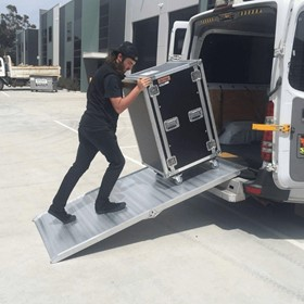 Aluminium Folding Walk Loading Ramp | 2.1m x 400kg