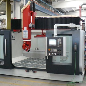 Italian FLU Series High Speed 5 Axis Gantry CNC Machining Centres