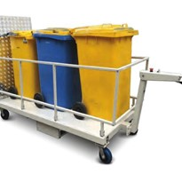 Powered Wheelie Bin Trolleys | MPBT