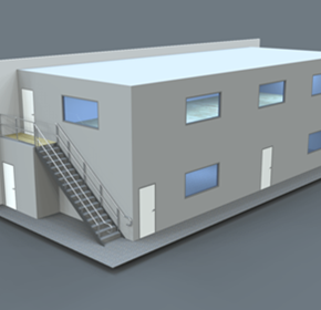 Mezzanine Offices | Two-Storey Plan