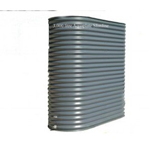 NTM Aquaplate Steel Slimline Tanks - 04, 3400L