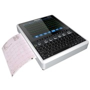 12 Channel ECG Machine iMac 120 with 10 inch HD LED Touchscreen