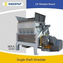 Economic Document Single Shaft Shredder Machine