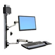 Ergonomic Computer Desk & Workstation | LX Wall Mount System
