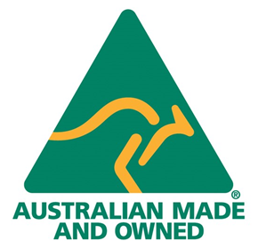 Australian owned, made and manufactured