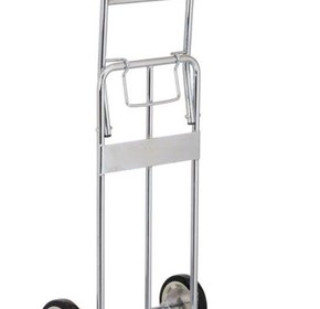 Foldable Chrome Plated Hand Truck