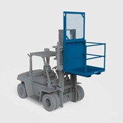 Forklift Attachments | Forklift Access Cage