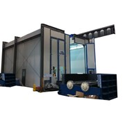 Crane Entry Spray Booths & Ovens