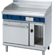 Gas Griddle Electric Convection Oven Blue Seal Evolution Series GPE58