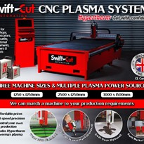 Hare & Forbes Machineryhouse SWIFT CUT CNC Plasma Systems
