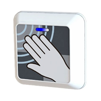 Microwave Touchless Door Sensor | SafePass ClearWave