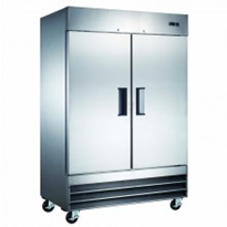 Mitchel Refrigeration Stainless Steel Two Door Commercial Freezers