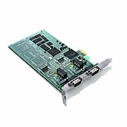 Single and dual channel interface PCI express Board