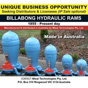 Billabong Hydraulic Water Rams (BBHWRs) - Distributorship Opportunity
