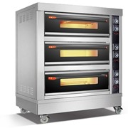 Amalfi Electric Three Deck Oven - 6 Trays