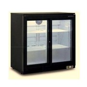 Sliding Glass Two Door Backbar Chiller